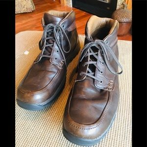 Cabela's Men's High Top Leather Shoe 13 Brown